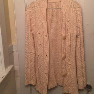 Chunky Free People cardigan sweater ❄️